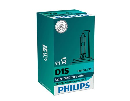 Auto sijalice PHILIPS D1S 85V 35W PK32d-2 – XENON X-TREMEVISION – 4800 K  – 85415XV2C1