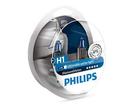 Auto sijalice PHILIPS H1 12V 55W P14.5s – DIAMOND VISION