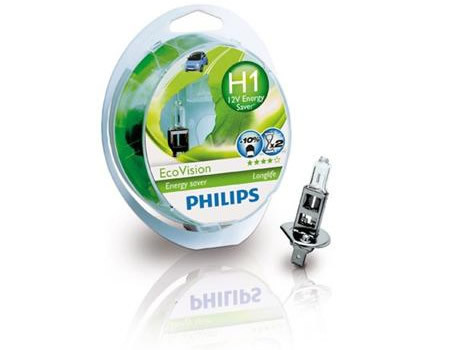 Auto sijalice PHILIPS H1 12V 55W P14.5s – ECO VISION – Long life -