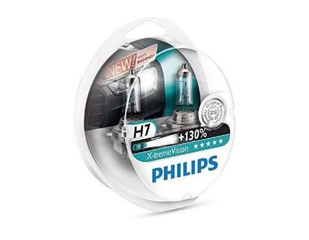 Auto sijalice PHILIPS H7 12V 55W PX26d – X-TREME VISION 130%