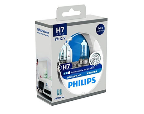 auto sijalice philips h7 12v 55w px26d white vision. Black Bedroom Furniture Sets. Home Design Ideas
