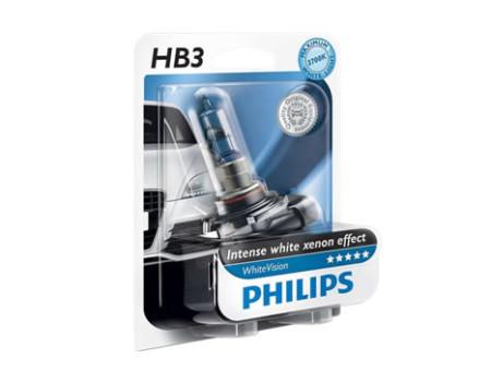Auto sijalice PHILIPS HB3 12V 65W P20d – WHITE VISION  Xenon efekat od 3700 K