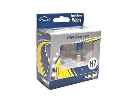 SET Auto sijalica NARVA 12H7RPW – RANGE POWER WHITE – Xenon efekat (98518)
