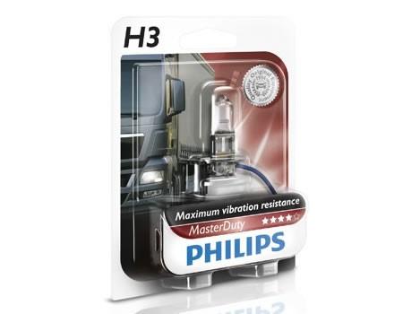 Sijalice za kamione PHILIPS H3 24V 70W PK22s – MASTER DUTY