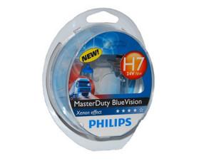 Sijalice za kamione PHILIPS H7 24V 70W PX26d - MASTER DUTY BLUE VISION