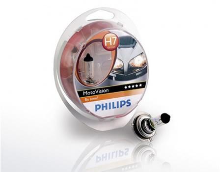 Sijalice za motocikle PHILIPS H7 12V 55W PX26d – MOTO VISION 40%
