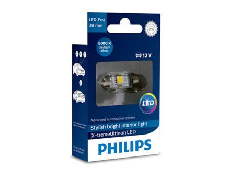 Auto sijalice PHILIPS X-TREME VISION LED – 12V SOFITNA – 1W (12859X1)
