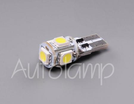 Auto sijalice AUTOLAMP LED 12V 5W UBODNA – W2.1×9.5d
