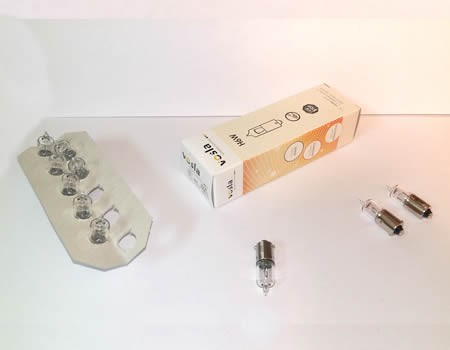 Auto sijalice VOSLA 12V H6 6W BAX9s – minijaturne (38161)