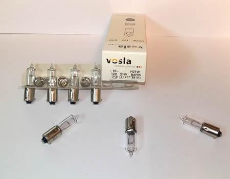 Auto sijalice VOSLA halogene 12V H21 21W BAY9s – minijaturne (38191)