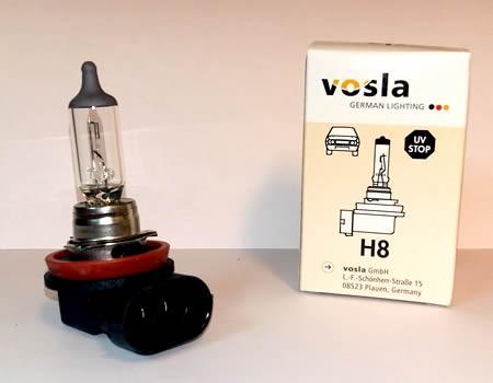 Auto sijalice VOSLA halogene 12V H8 35W PGJ19-1 (28076)