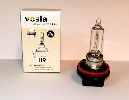 Auto sijalice VOSLA halogene 12V H9 65W PGJ19-5 (28077)