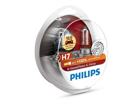 Auto sijalice PHILIPS H7 12V 55W PX26d – X-TREME VISION G-force 12972XVGS2