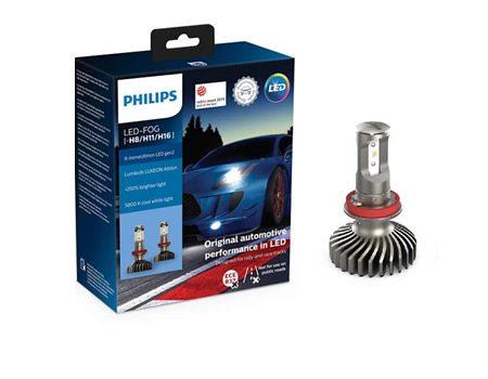Auto sijalice PHILIPS 11366XUWX2 LED SIJALICE ZA MAGLU H8, H11 i H16 5800 K