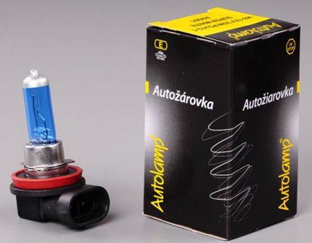 Auto sijalice Autolamp 12V H8 35W PGJ19-1 – SUPER WHITE – 4000K Xenon efekat – A9081