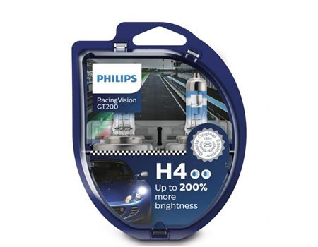 Auto sijalice PHILIPS H7 12V 55W PX26d – RacingVision GT200 – 12972RGTS2