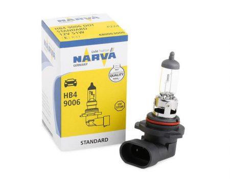 Auto sijalice NARVA 12V HB4 51W P22d – 480064000