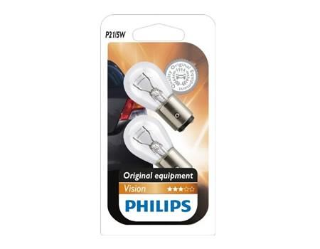 Auto sijalice PHILIPS 12V 21/5W BAY15d – PREMIUM 30%+