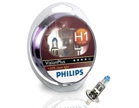 Auto sijalice PHILIPS H1 12V 55W P14.5s – VISION PLUS