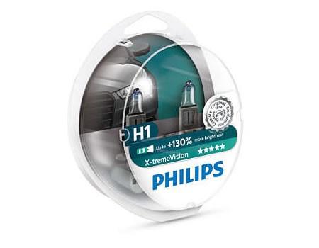 Auto sijalice PHILIPS H1 12V 55W P14.5s – X-TREME VISION