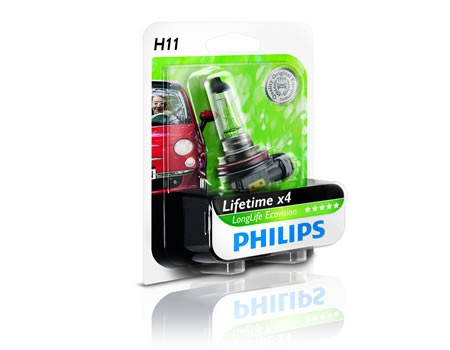 Auto sijalice PHILIPS H11 12V 55W PGJ19-2 – LONG LIFE ECO VISION