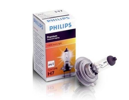 Auto sijalice PHILIPS H7 12V 55W PX26d – PREMIUM 30%+