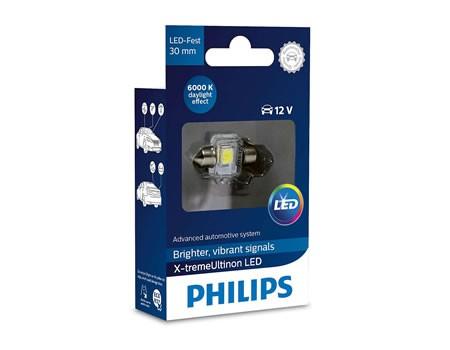 Auto sijalice PHILIPS X-TREME VISION LED – 12V SOFITNA – 1W (12941X1)