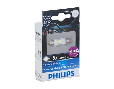 Auto sijalice PHILIPS X-TREME VISION LED – 12V SOFITNA – 1W (12946X1)
