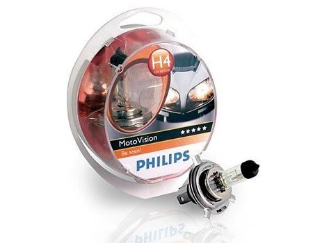 Sijalice za motocikle PHILIPS H4 12V 60/55W P43t – CITY VISION MOTO 40%