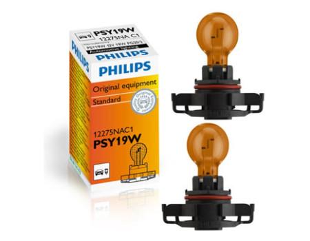 Auto sijalice PHILIPS 12V 19W – PSY19W PG20/2 ŽUTA – HIPER VISION – 12275NAC1