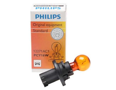 Auto sijalice PHILIPS 13.5V 16W – PCY16W PU20d/2 – HIPER CLICK A – 12271AC1