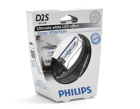 Auto sijalice PHILIPS D2S 85V 35W P32d-2 – XENON WhiteVision 6000 K – 85122WHVS1