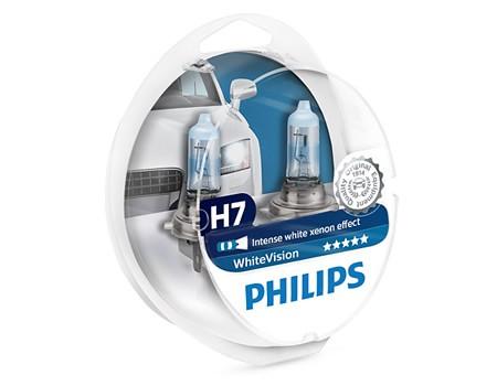 Auto sijalice PHILIPS H7 12V 55W PX26d – WHITE VISION