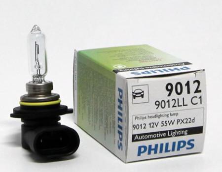 Auto sijalice PHILIPS HIR-2 12V 55W PX22d –  Long life – 9012LLC1