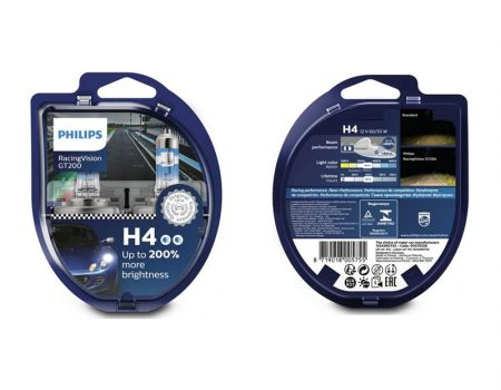 Auto sijalice PHILIPS H4 12V 60 55W P43t RacingVision GT200 – 12342RGTS2