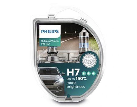 Auto sijalice PHILIPS H7 12V 55W PX26d – X-tremeVision Pro150 – 12972XVPS2