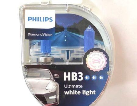 Auto sijalice PHILIPS HB3 12V 60W P20d – DiamondVision – 5000K – 9005DVS2