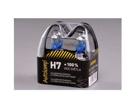 AUTO SIJALICA Auto Lamp SET SIJALICA H7 12V 55W PX26d do 100% više svetla – 3700K – A9045S2